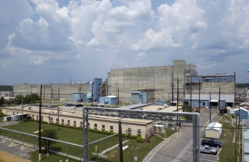 H-Canyon at Savannah River Site. The building is called a canyon because of its long rectangular shape and two continuous trenches that contains process vessels.