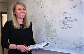 Heather Cloar, a DOE employee in Oak Ridge, was named as a member of this year's 40 Under 40.