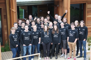 Members of Team New Zealand | Courtesy of the New Zealand team's Flickr photostream