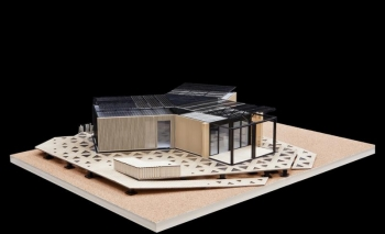 Team China's Y Container design model  | Courtesy of the Solar Decathlon's Flickr photostream