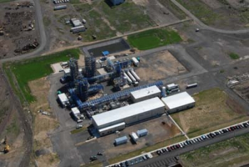 An aerial view of AE Polysilicon's polycrystalline silicon factory in Bucks County, PA, which is expected to create 70-120 permanent jobs. | Photo Courtesy of AE Polysilicon