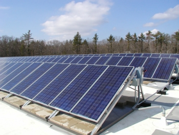 J.F. Electric will soon install its own solar rooftop solar panels, saving money and gaining a potential sales tool.     Photo Courtesy of J.F. Electric  