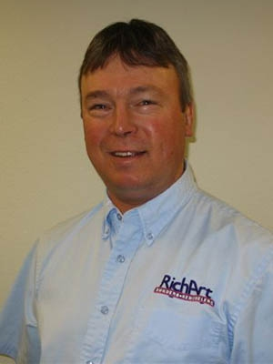 Mike Richart's company has witnessed a surge in weatherization business in the past year   Photo courtesy of Mike Richart