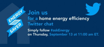 The Energy Department's home energy efficiency experts David Lee and Sam Rashkin will be answering your questions on ways to save energy and money at home. | Image courtesy of Sarah Gerrity.
