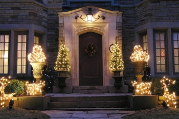 Using LED lights for your holiday decorations can save you energy and money. | Photo courtesy of ©iStockphoto.com/peterspiro