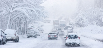 Make sure your car is ready for spring snowstorms.   Photo courtesy of ©iStockphoto.com/Irishka1