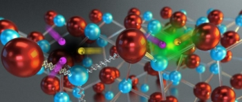 An illustration of nitride-based LEDs.| Courtesy of the National Energy Research Scientific Computing Center.
