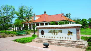 The Jackson County Welcome Center in Moss Point, Mississippi. The Mississippi Public Service Commission has approved new rules that will help provide utility customers several pathways to increase energy efficiency.   Photo courtesy of Energy and Natural Resources Division, Mississippi Development Authority
