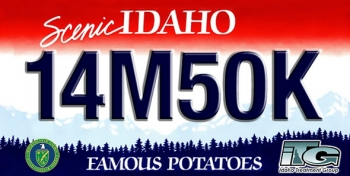 Only the 620 employees at EM's Advanced Mixed Waste Treatment Project earned the right to this vanity plate after working more than 14 million hours without a lost-time injury and safely and compliantly shipping more than 50,000 cubic meters of transuranic and mixed low-level radioactive waste for disposal.