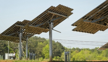 A new solar installation was recently dedicated at the East Tennessee Technology Park Heritage Center in Oak Ridge.
