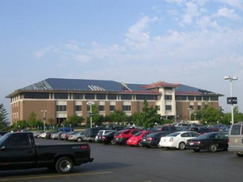 The Kane County Judicial Center is one building that received retrofits to save the county energy with a Recovery Act-funded block grant. | Photo courtesy of Kane County
