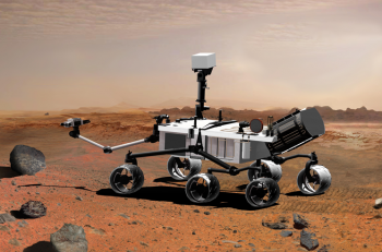 Mars Science Laboratory, aka Curiosity, is part of NASA's Mars Exploration Program, a long-term program of robotic exploration of the Red Planet. It's powered by the Multi-Mission Radioisotope Thermoelectric Generator (MMRTG). Photo courtesy of NASA/JPL-Caltech.