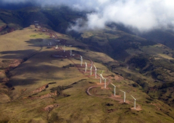 The Hawaii Clean Energy Initiative's goal is to generate 70 percent of the state's power using clean energy such as wind. | Photo courtesy of the State of Hawaii.