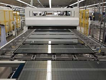 MiaSolé will expand its capacity to make its thin-film solar panels by more than ten times, thanks to two Recovery Act tax credits.| Photo courtesy of MiaSolé