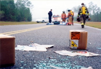 Emergency responders participate in a training exercise in the Transportation Emergency Preparedness Program (TEPP), which also recently released its annual report. Administered by EM's Office of Packaging and Transportation, TEPP ensures federal, state, tribal and local responders have access to the plans, training and technical assistance necessary to safely, efficiently and effectively respond to radiological transportation accidents.