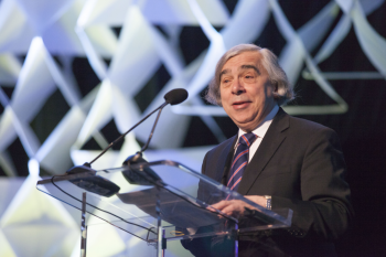 Energy Secretary Ernest Moniz highlighted the importance of clean energy technologies to the global transition to a low-carbon future. | Photo by Sarah Gerrity, Energy Department.