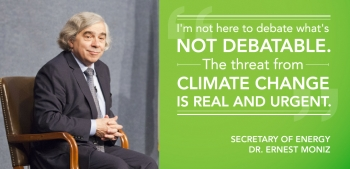 #ActOnClimate: Secretary Moniz's First Three Months