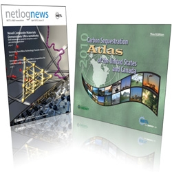 NETL's netlognews and Carbon Sequestration Atlas win first-place awards from the National Association of Government Communicators.