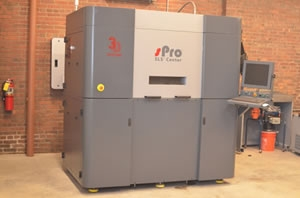 A 3D printer at NAMII's facility in Youngstown, Ohio. Photo credit: National Additive Manufacturing Innovation Institute.