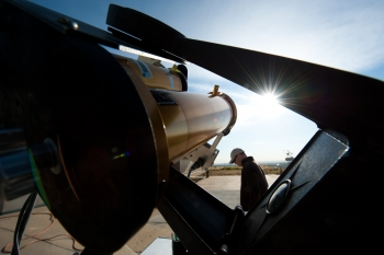 The Energy Department's SunShot Initiative focuses on making solar electricity cost-competitive by the end of the decade. | Photo courtesy of Dennis Schroeder/NREL.