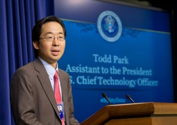 U.S. Chief Technology Officer Todd Park kicks off the Safety Datapalooza on September 19th.   Photo Courtesy U.S. Department of Labor