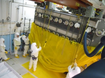 A program developed by employees enhances use of respiratory equipment in the Plutonium Finishing Plant.