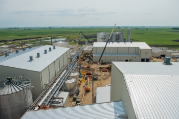 POET-DSM's Project LIBERTY opened in September, becoming the nation's first commercial-scale cellulosic ethanol plant to use corn waste as a feedstock. | Photo courtesy of POET-DSM