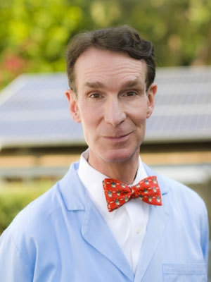 Bill Nye currently hosts three television shows about science.   Photo courtesy of Bill Nye