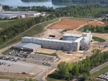 DuPont Danisco Cellulosic Ethanol (DDCE) opened a new biorefinery in Vonore, Tenn., last year.   Photo courtesy of DDCE