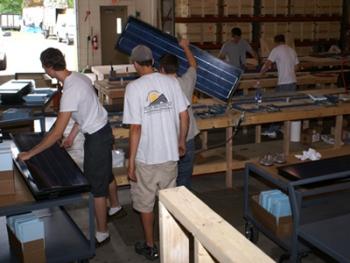 LUMA Resources employees are working toward a clean energy economy.   Photo courtesy LUMA Resources