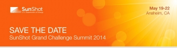 Media Invitation: 2014 SunShot Grand Challenge Summit and Peer Review
