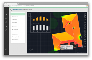 Aurora Solar's new technology provides 3-D modeling simulations, shading analysis, and financial analysis for customers. | Photo courtesy of Aurora Solar