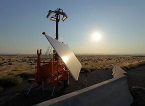 EM's Richland Operations Office and its contractors found solar power alternatives to building 1.5 kilometers of power lines and 15 to 20 power poles to bring electricity to Hanford's 618-11 Burial Ground project.