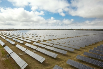 "<strong>October 2013:</strong> The Energy Department announces $60 million in new projects to support innovative solar energy research and development. As part of the Department's SunShot Initiative, the awards aim to help lower the cost of solar electricity, advance seamless grid integration and support a growing U.S. solar workforce. <a href=""http://www.energy.gov/articles/energy-department-announces-60-million-drive-affordable-efficient-solar-power?__utma=1.822254579.1380221839.1387833000.1387894189.83&__utmb=1.21.10.1387894189&__utmc=1&__utmx=-&__utmz=1.1387894189.83.56.utmcsr=google