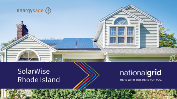 A new partnership between EnergySage and utility National Grid is providing Rhode Island energy consumers with a new way to go solar and save money on their electricity bill. Photo courtesy of EnergySage.