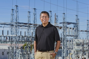 Dr. Stan Atcitty, a Sandia engineer, works on  power electronics and energy storage integration to the grid. A program run by Sandia Labs for Native Americans in STEM paid for his Master's and Ph.D. degrees while he worked at Sandia.