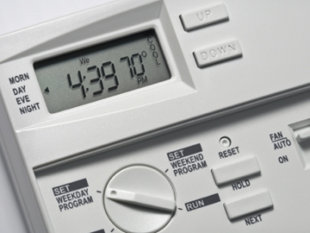 A portion of Glendale, Arizona's Energy Efficiency and Conservation Block Grant was used to purchase programmable thermostats.   Department of Energy Photo  