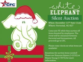 White Elephant Silent Auction