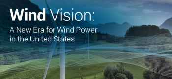 """The <a href=""""/node/778491"""">Wind Vision Report</a> describes potential wind industry scenarios for 2020, 2030, and 2050."""