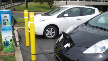 MetLife is one of the 19 new partners in the Energy Department's Workplace Charging Challenge. As part of its Challenge commitment, the company installed electric vehicle charging stations for employee use at 14 of its locations across the country. | Photo courtesy of MetLife.