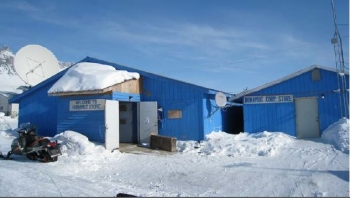 The Yukon River Inter-tribal Watershed Council replaced the village store's existing forced-air furnace with high-efficiency boilers and retrofitted the lighting.