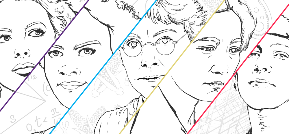 outside the lines women in stem 2017 coloring book - Outside The Lines Coloring Book