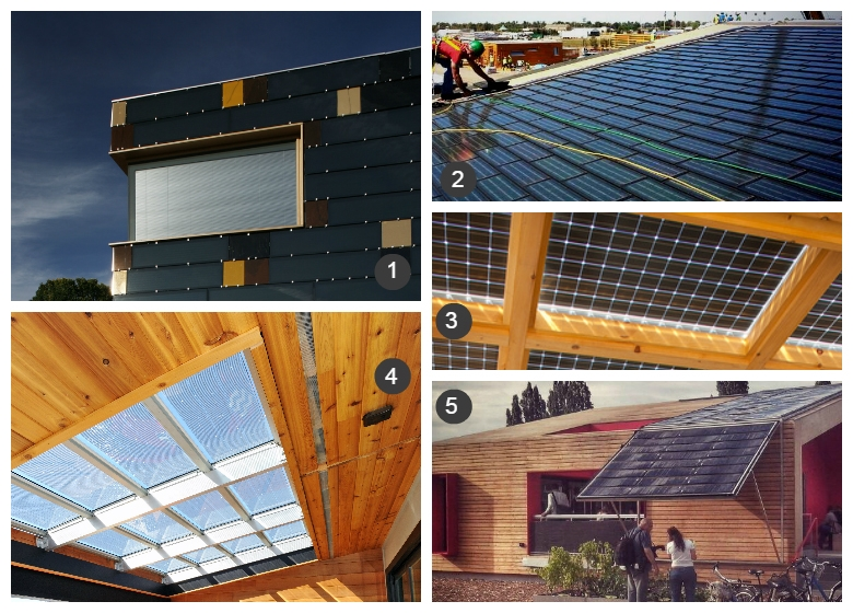 These Examples Of Building Integrated Photovoltaic Panels Are Like Solar  Eye Candy. All Images From