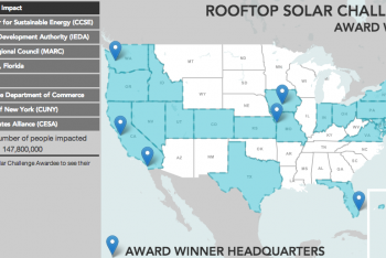 Rooftop Solar Challenge Award Winners