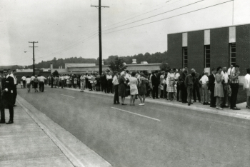 Lining up for the 1967 Y-12 open house