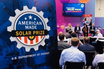 "The ""Movers and Makers: Spurring Solar Innovation through Prize Competitions"" panel at Solar Power International"