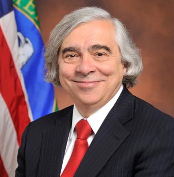 View a high-resolution photo of Secretary Moniz.
