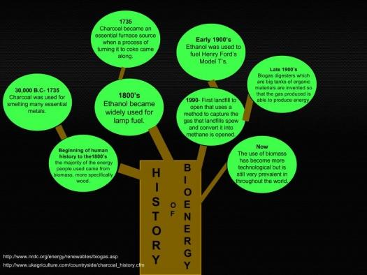 BIOENERGIZEME INFOGRAPHIC CHALLENGE: History of Bioenergy