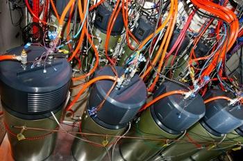 Water heater testing facility at Oak Ridge National Laboratory.