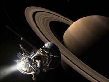 July 1, 2004: Cassini-Huygena spacecraft goes into orbit around Saturn